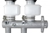 Wilwood® - Aluminum Tandem Remote Master Cylinder with Fixed Reservoirs