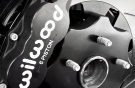 Wilwood® - Big Brake Kit with Black Caliper