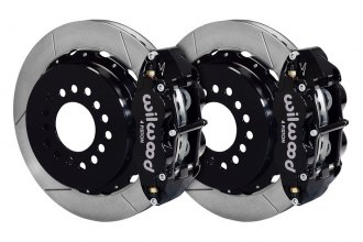 Wilwood® - Street Performance GT Slotted Rear Brake Kit with Parking Brake Assembly