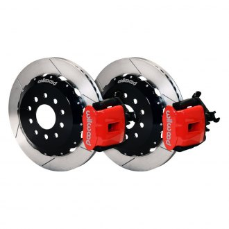 Wilwood® - Combination Parking Slotted Rear Brake Kit