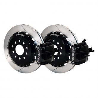 Wilwood® - Combination Parking Slotted Rotor Rear Brake Kit with Parking Brake Assembly