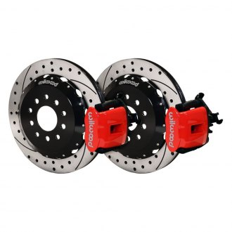 Wilwood® - Combination Parking Drilled and Slotted Rear Brake Kit
