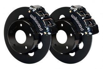 Wilwood® - Drag Race Plain Narrow Dynapro Front Brake Kit