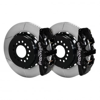 Wilwood® - Street Performance GT Slotted Rotor Rear Brake Kit with Parking Brake Assembly