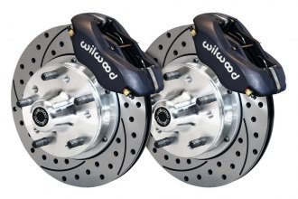 Wilwood® - Street Performance Drilled and Slotted Front Brake Kit
