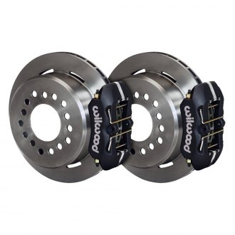 Wilwood® - Street Performance Plain Rear Brake Kit with Parking Brake Assembly