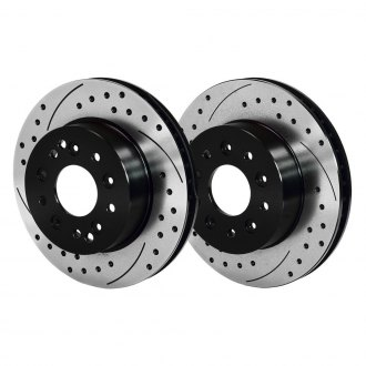 Wilwood® - Drilled and Slotted Vented 1-Piece Brake Rotors