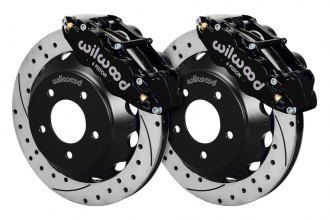 Wilwood® - Street Performance Drilled and Slotted Forged Narrow Superlite Brake Kit