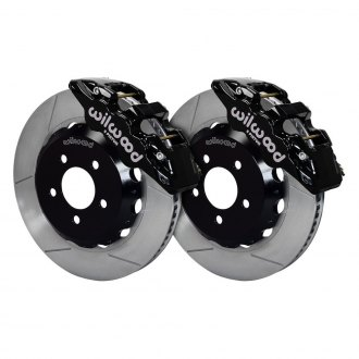 Wilwood® - Street Performance GT Slotted Rotor AERO6 Caliper Front Brake Kit