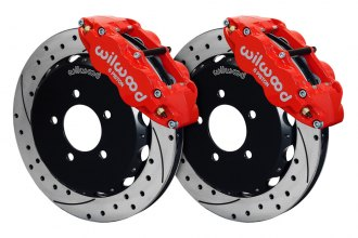 Wilwood® - Street Performance Drilled and Slotted FNSL6R Front Brake Kit