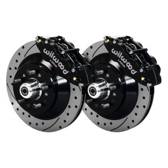 Wilwood® - Street Performance Drilled and Slotted Rotor Front Brake Kit