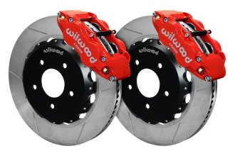 Wilwood® - Street Performance GT Slotted FNSL4R Front Brake Kit