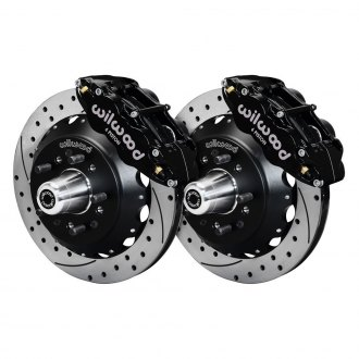 Wilwood® - Street Performance Drilled and Slotted Rotor Brake Kit