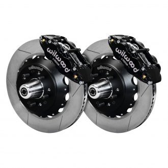 Wilwood® - Street Performance GT Slotted Rotor Forged Narrow Superlite Caliper Front Brake Kit