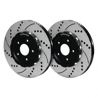 Wilwood® - Drilled and Slotted Vented 2-Piece Front Brake Rotors