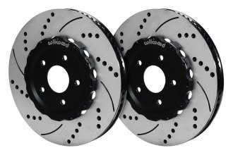 Wilwood® - Drilled and Slotted Front Rotors