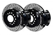 Wilwood® - Street Performance Drilled and Slotted D154 Rear Brake Kit