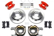 Wilwood® - Street Performance Plain D154 Rear Brake Kit