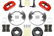 Wilwood® - Street Performance Plain Forged Narrow Superlite Front Brake Kit