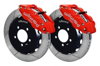 Wilwood® - Street Performance GT Slotted FNSL6R Front Brake Kit