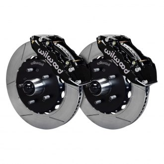 Wilwood® - Street Performance GT Slotted AERO6 Front Brake Kit