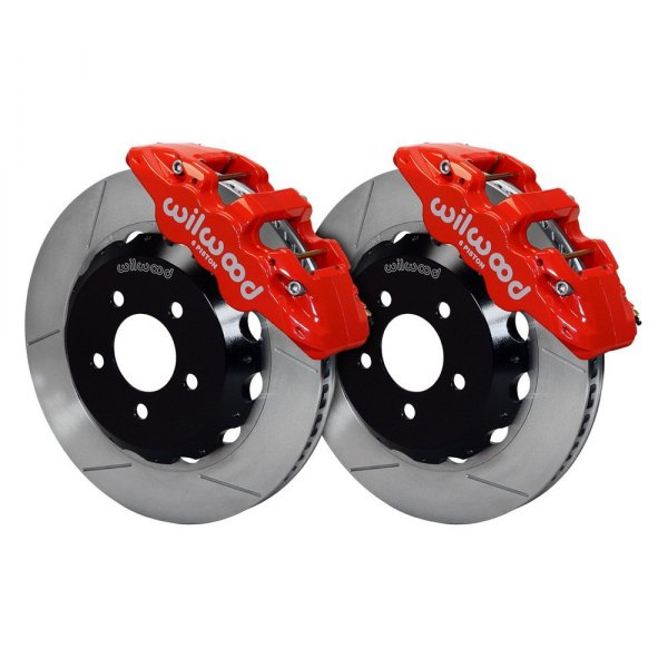 Wilwood® - Street Performance GT Slotted Rotor Front Brake Kit
