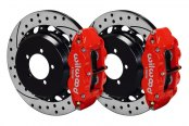 Wilwood® - Street Performance Drilled and Slotted Forged Narrow Superlite Rear Brake Kit
