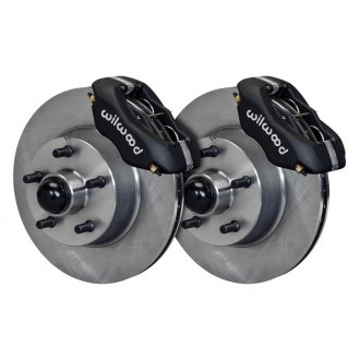 Wilwood® - Street Performance Plain Rotor Forged Dynalite Caliper Front Brake Kit
