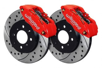 Wilwood® - Street Performance Drilled and Slotted Forged DPHA Front Brake Kit