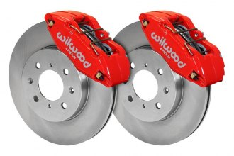 Wilwood® - Street Performance Plain Forged DPHA Front Brake Kit