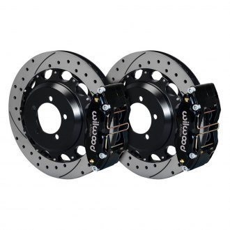 Wilwood® - Street Performance Drilled and Slotted DynaPro Rear Brake Kit