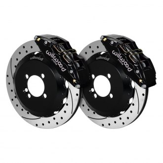 Wilwood® - Street Performance Drilled and Slotted DynaPro Front Brake Kit