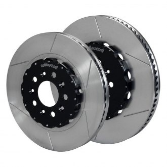 Wilwood® - GT Series Slotted Vented 2-Piece Front and Rear Brake Rotors