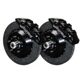 Wilwood® - Street Performance Carbon-Ceramic Rotor AERO6 Caliper Front Brake Kit