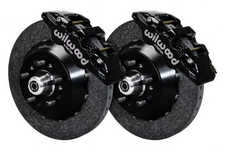Wilwood® - Street Performance Carbon-Ceramic AERO6 Front Brake Kit
