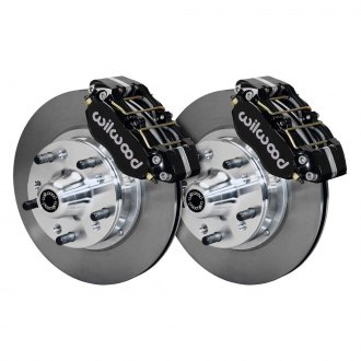 Wilwood® - Street Performance Plain Drum-to-Disc Conversion Brake Kit