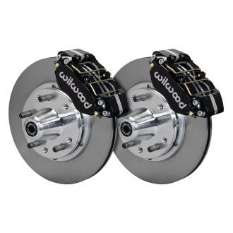 Wilwood® - Street Performance Plain Rotor Brake Kit