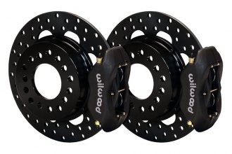 Wilwood® - Drag Race Drilled Forged Dynalite Rear Brake Kit