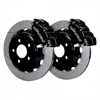Wilwood® - Drag Race Slotted Rotor NDPR Caliper Front Brake Kit