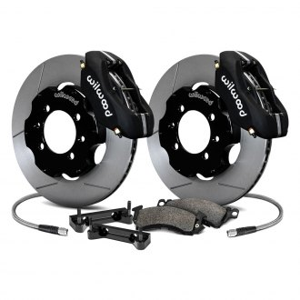 Wilwood® - Road Race GT Slotted Rotor Front Brake Kit