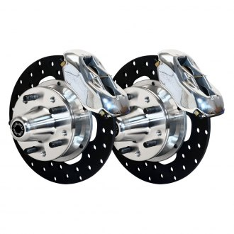 Wilwood® - Drag Race Drilled Rotor Forged Dynalite Caliper Front Brake Kit