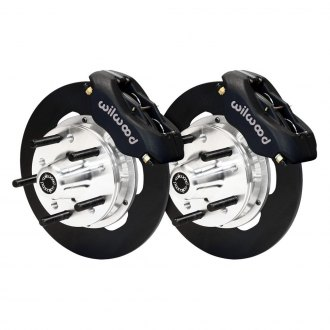 Wilwood® - Drag Race Plain Forged Dynalite Front Brake Kit