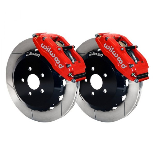 Wilwood® - Street Performance GT Slotted Billet Narrow Superlite 6 Front Brake Kit