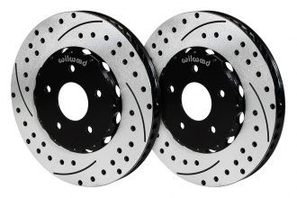 Wilwood® - Drilled and Slotted Rotors