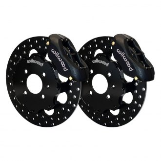Wilwood® - Drag Race Drilled Forged Dynalite Front Brake Kit