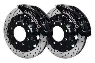 Wilwood® - Street Performance Drilled and Slotted TC6 Brake Kit