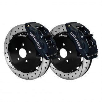 Wilwood® - Street Performance Drilled and Slotted Forged Superlite Internal Front Brake Kit