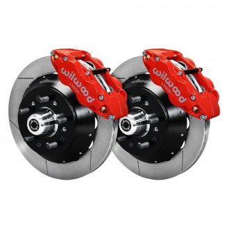 Wilwood® - Street Performance GT Slotted Drum-to-Disc Conversion Brake Kit