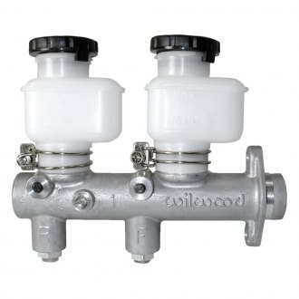 "Wilwood® - 1"" Bore with Fixed Reservoirs Tandem Master Cylinder"