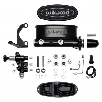 "Wilwood® - 1 1/8"" Bore High Volume Tandem Master Cylinder Kit"